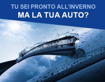 Tu sei pronto all'inverno, ma la tua auto?